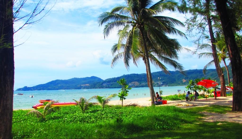 Patong Beach February 2015