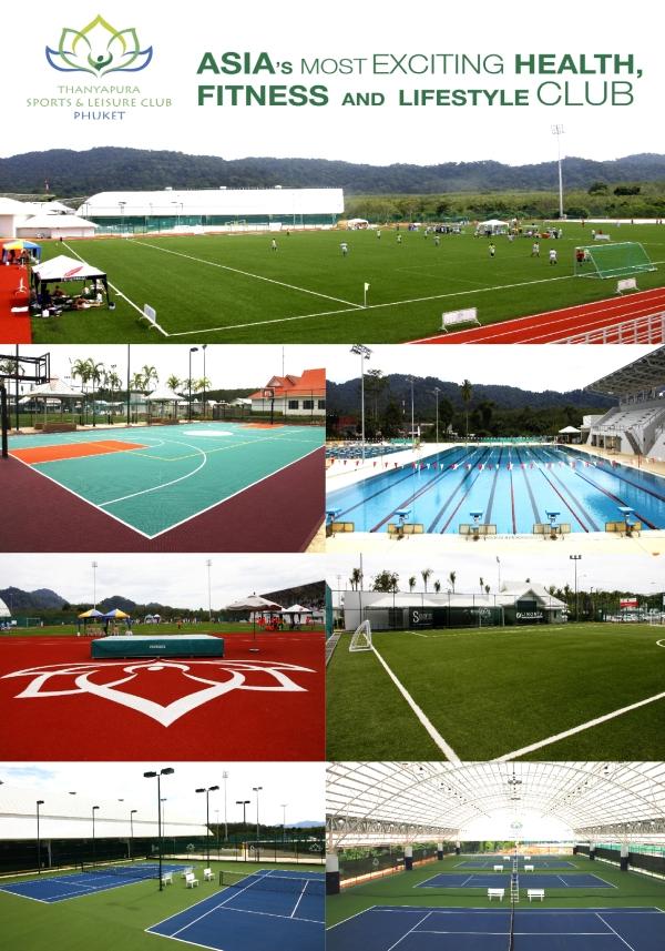 Thanyapura Sports & Leisure Club - Sports Facilities