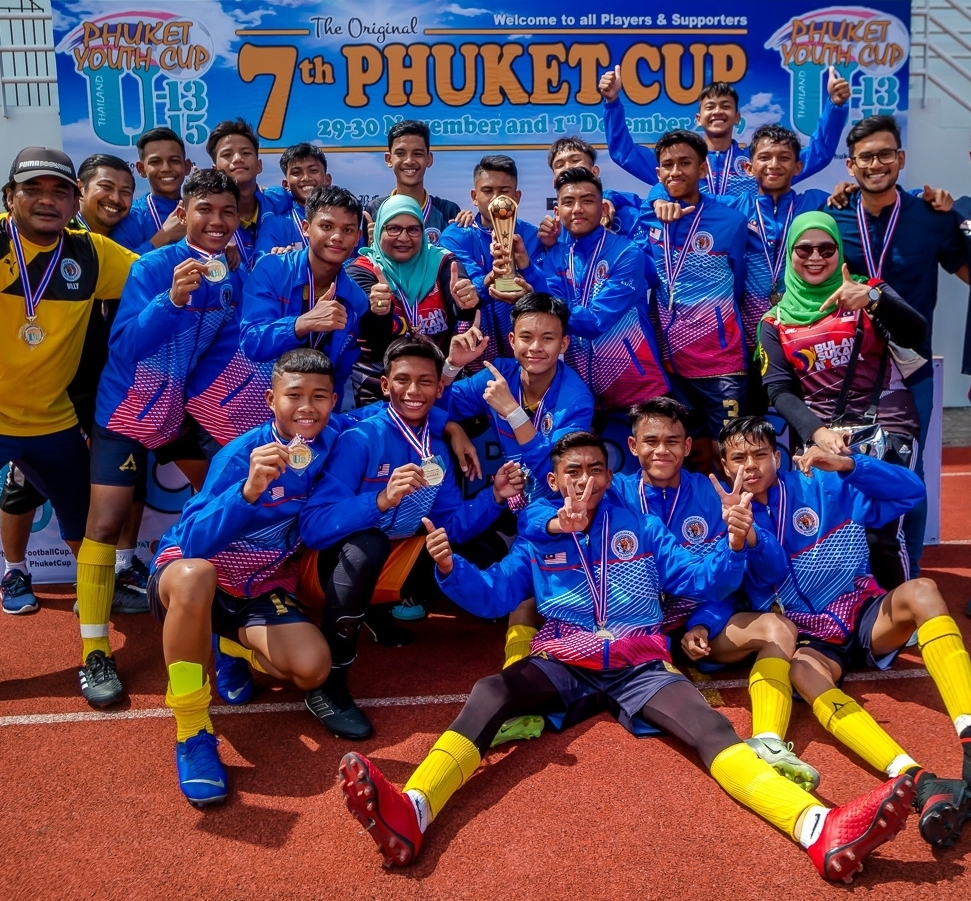#2019PhuketCup U15 Champions.